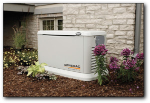 A whole-house standby generator is always ready to protect your home from losing electric power! • NO gasoline needed • NO extension cords • 100% SAFE & Worry-Free